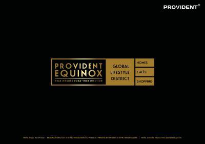 Provident Equinox 2 Brochure 1