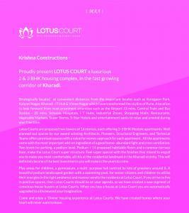 Krishna Lotus Court Brochure 2