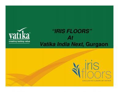 Vatika Iris Floors Brochure 1