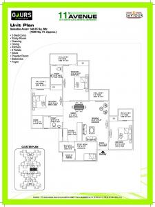 Gaursons Hi Tech 11th Avenue Brochure 11