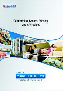 Omaxe New Heights Brochure 1