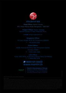 Mantri Vantage Brochure 9