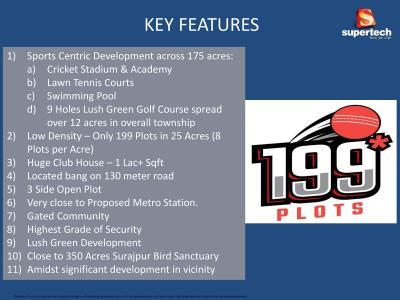 Supertech 199 Plots Brochure 2