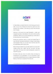 Adani Shantigram Brochure 2