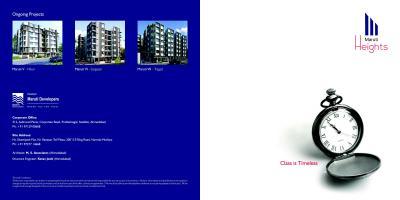 Maruti Heights Brochure 1