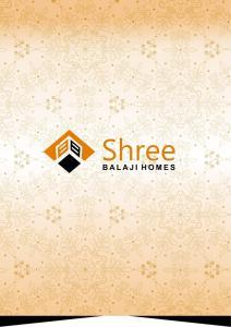 Shree Balaji Homes Brochure 1