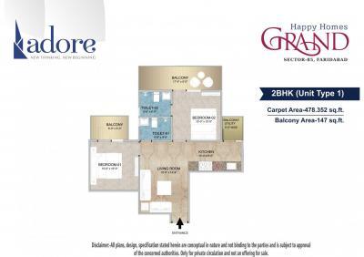 Adore Happy Homes Grand Brochure 3