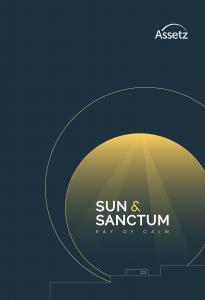 Assetz Sun And Sanctum Brochure 1
