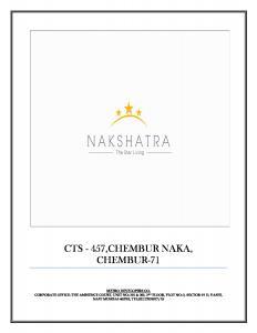 Metro Nakshatra Brochure 1