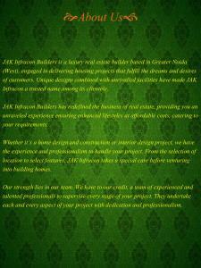 Jak Green Villas II Brochure 2