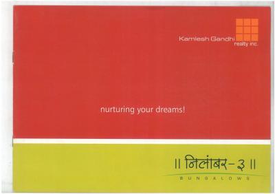 Kamlesh Nilamber Bungalows 3 Brochure 1
