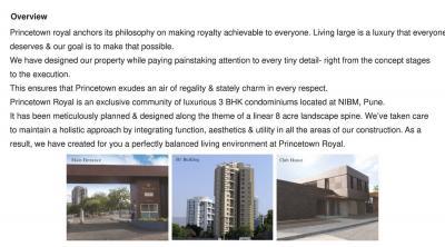 Kumar Princetown Royal B2 Brochure 2