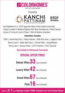 Colorhomes Kanchi Pattinam Brochure 1