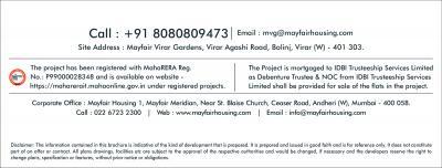 Mayfair Virar Gardens Building No 23 24 And 25 Brochure 8