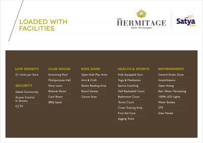 Satya Group The Hermitage Brochure 6