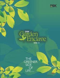 DSK Garden Enclave Brochure 1