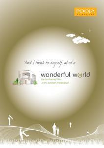 Pooja Wonderful World Brochure 1