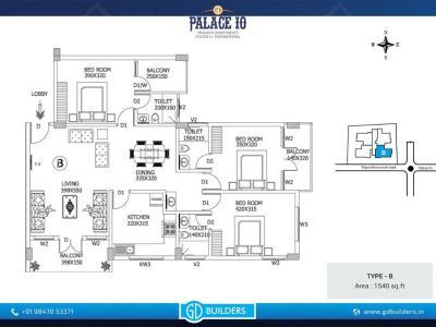 GD Palace 10 Apartments Brochure 4