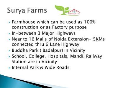 Del NCR Surya Chaman Enclave Plots Brochure 6