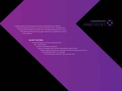 Casagrand Amethyst Brochure 5