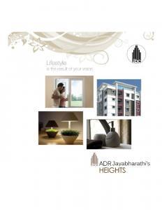 Jaya Bharathi ADR Jaya Bharathi Heights Brochure 1