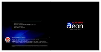 Ajmera Aeon Brochure 1