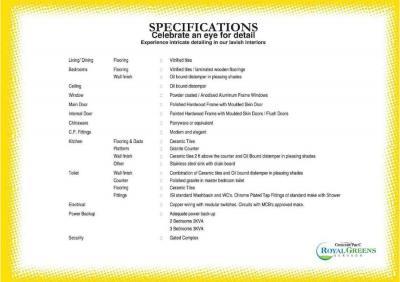 Sare Royal Greens Brochure 12