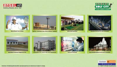 Ansal API Sushant Media Enclave Brochure 11