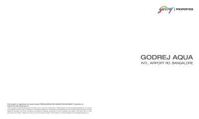 Godrej Aqua Brochure 1