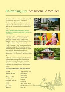 Mantra Senses Brochure 2