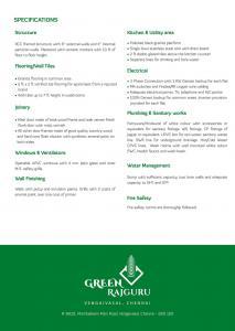 Green Valleys Shelters Rajguru Brochure 4