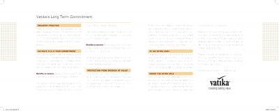 Vatika One On One Brochure 10