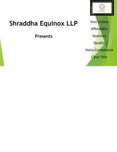 Shraddha Polaris Brochure 1