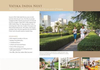 Vatika Sovereign Next Brochure 2