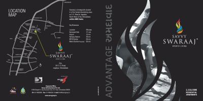 Savvy Swaraaj Sports Living Brochure 1