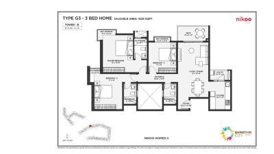 Bhartiya Nikoo Homes 2 Brochure 16
