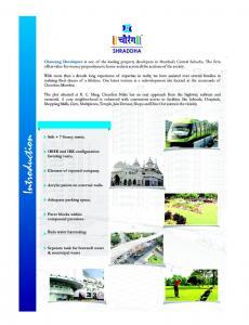 Chaurang Shraddha Brochure 2