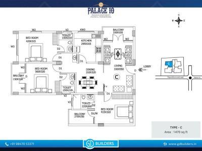 GD Palace 10 Apartments Brochure 5