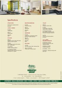 Amrapali Silicon City Brochure 15