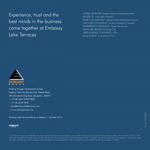 Embassy Lake Terraces Brochure 27