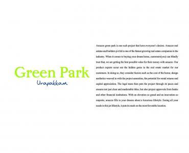 Amazze Greenpark Brochure 2