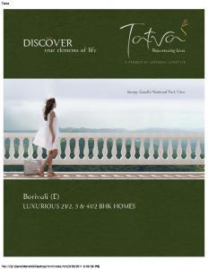 Gitanjali Tatva Brochure 1