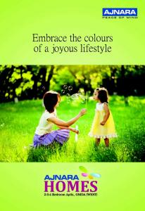Ajnara Homes Brochure 1