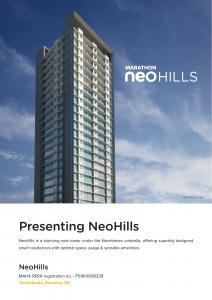 Marathon NeoHomes NeoHills Brochure 5