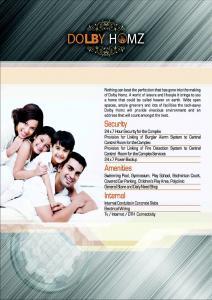 Homes Dolby Homz Brochure 2