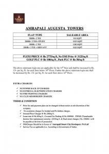 Amrapali Augusta Tower Brochure 10
