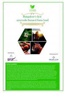 Ayush Green Farms Brochure 5