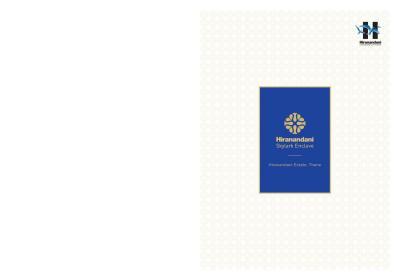 Hiranandani Skylark Enclave Brochure 1