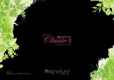 Signature Classic 2 Brochure 1