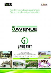 Gaursons Hi Tech 5th Avenue Brochure 1